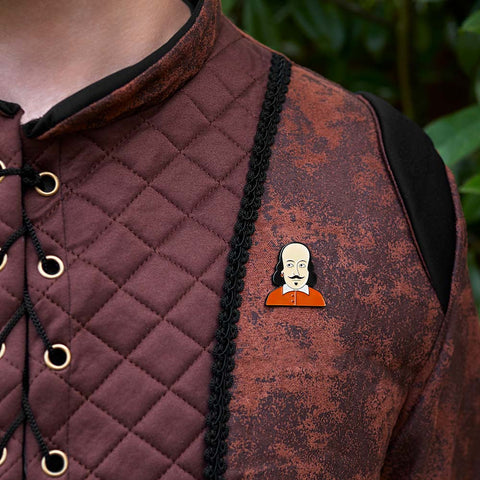Best Theatre Gifts - William Enamel Pin by ChattyFeet