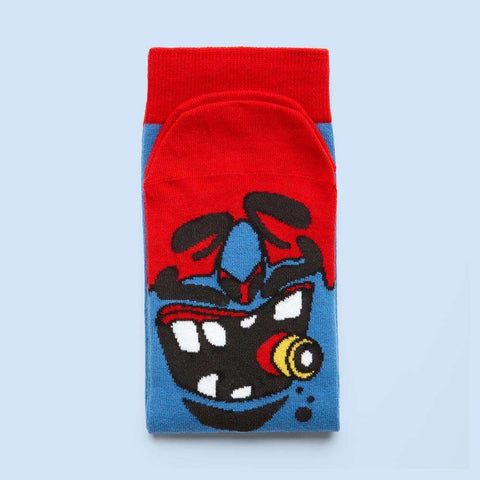 Quirky socks with characters - Murdoc design