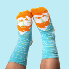 Art socks for kids - Vincent Van Toe