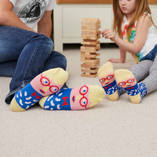 Family sock set for art lovers - David Sock-Knee