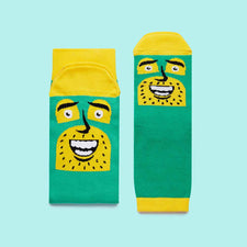 Cool family gifts by ChattyFeet- Commander Awesome fun socks