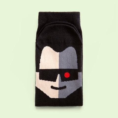 Mens funny socks inspired by Action Films