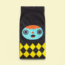 Character socks with illustrated designs - Gelly