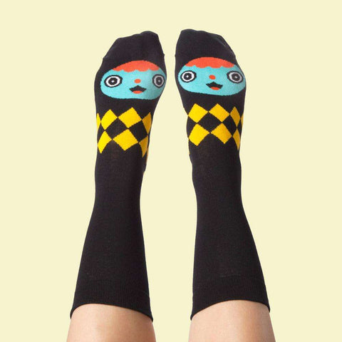Funny socks - Illustrated characters - Gelly