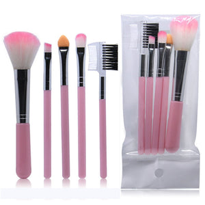 Kit Make Brushes 5 Pcs
