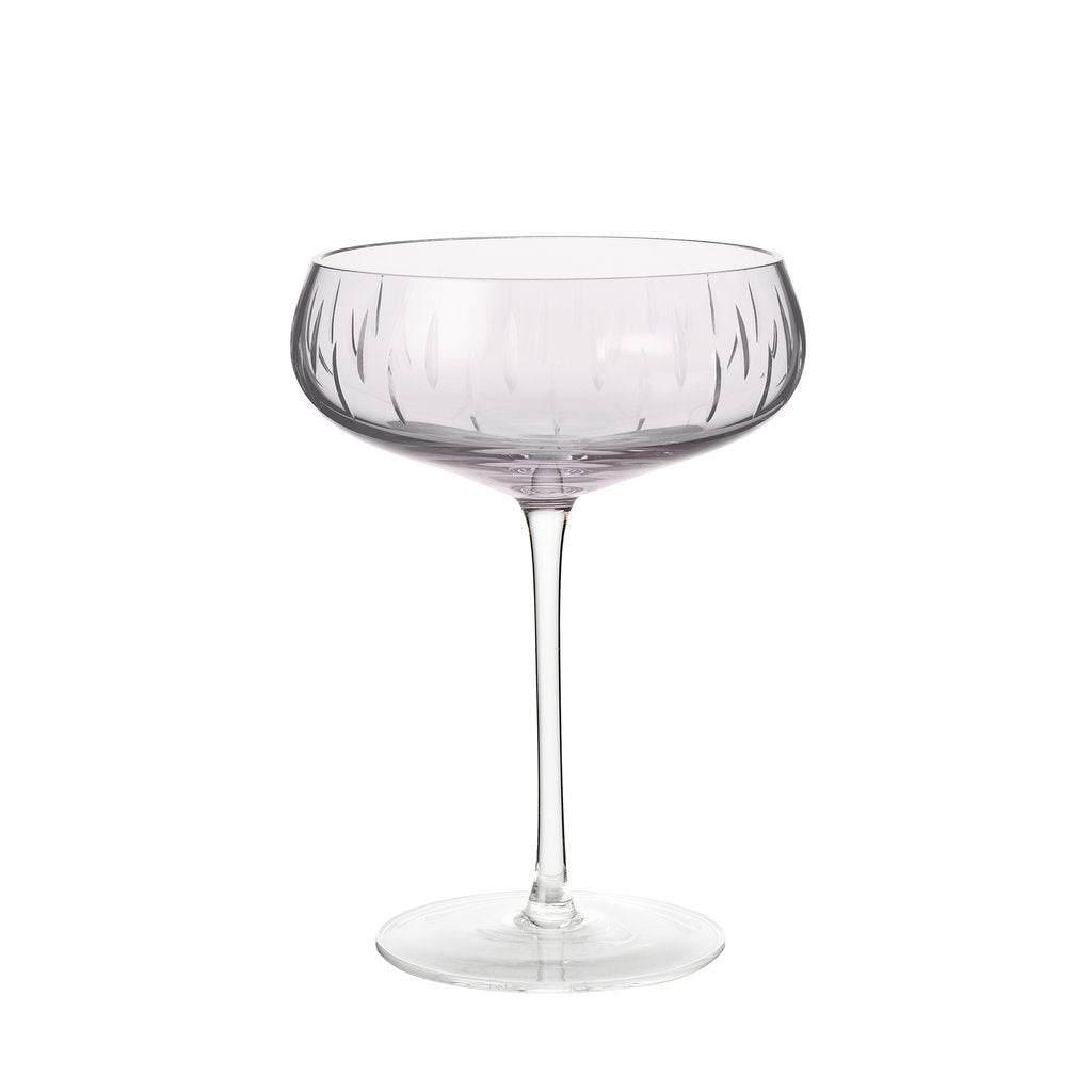 Louise Roe Krystal Champagne coupe - Rose