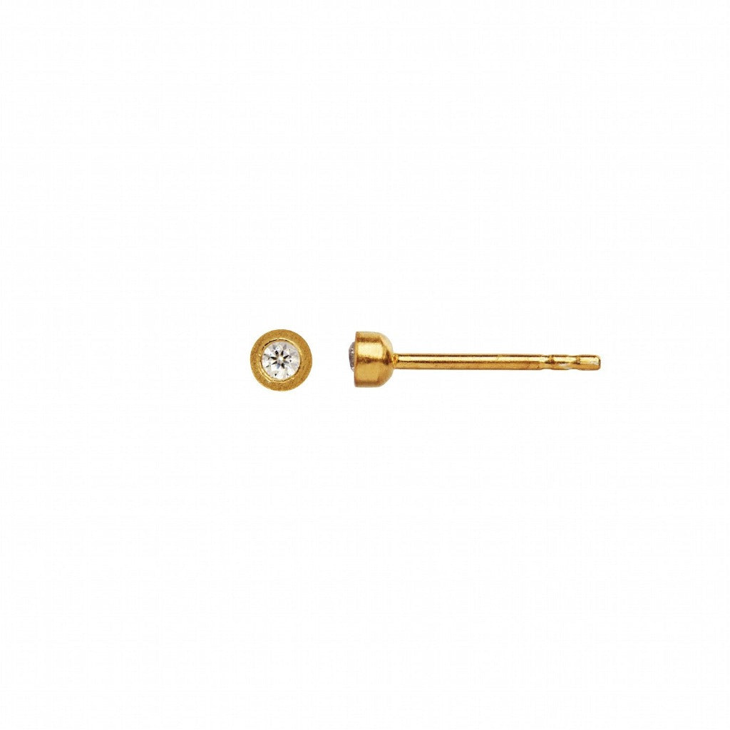 Stine A Big Dot Earring Piece - Gold
