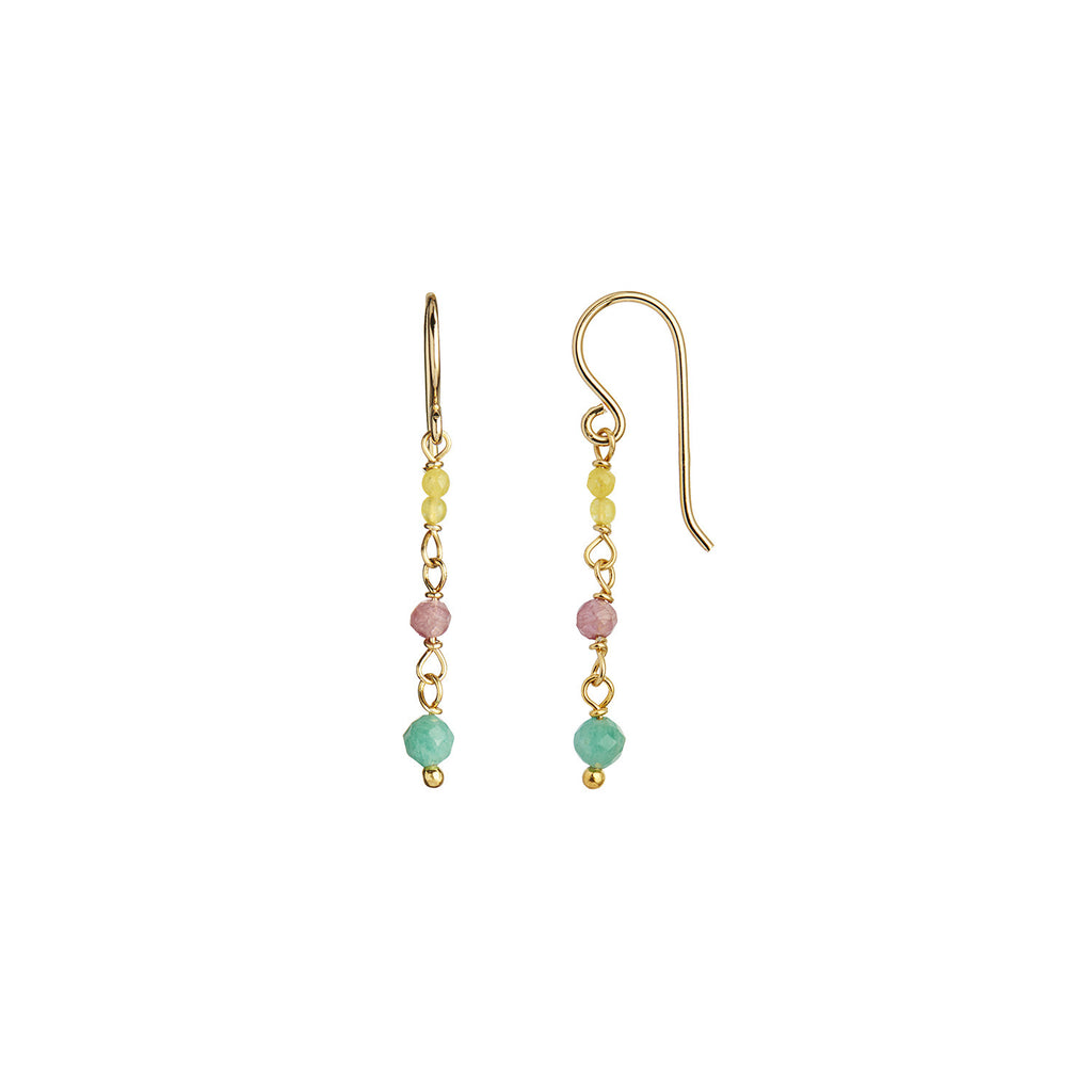 Køb Stine A Petit Stone Earring On Hook Light Candy Mix her
