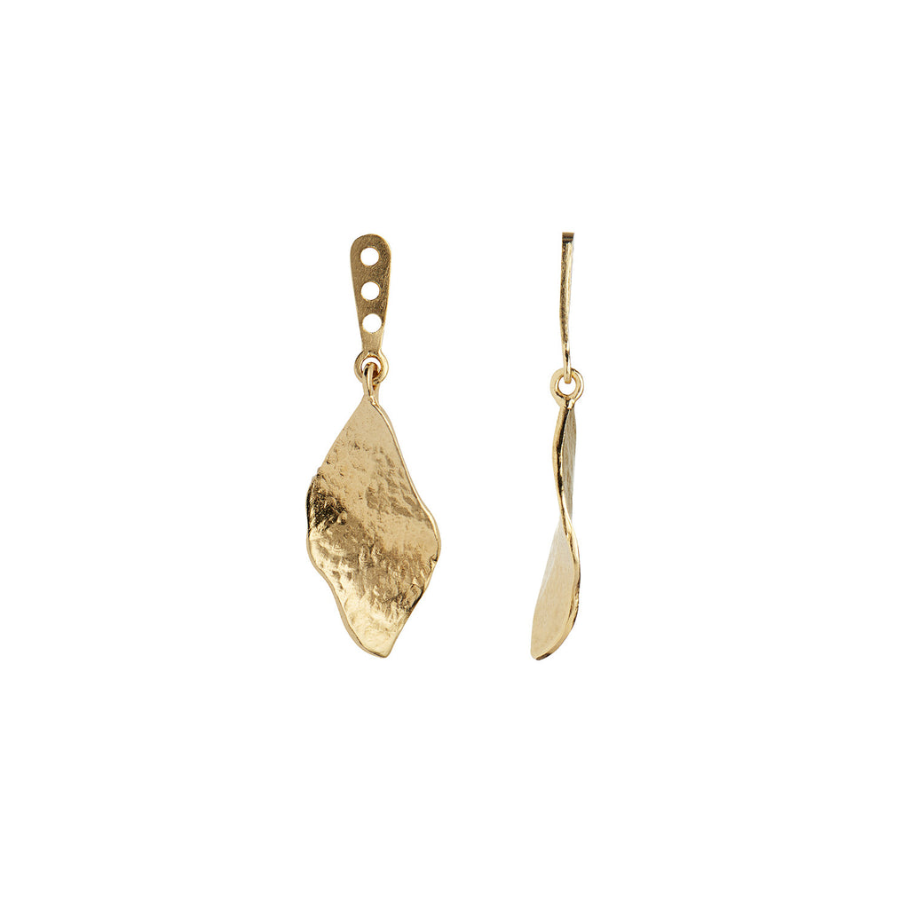 Køb Stine A Ile De L´amour Behind Ear Earring Gold Her.