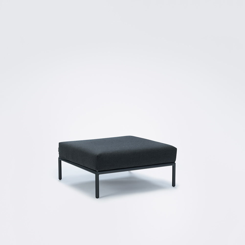 Houe - Level Lounge Ottoman Sooty Grey