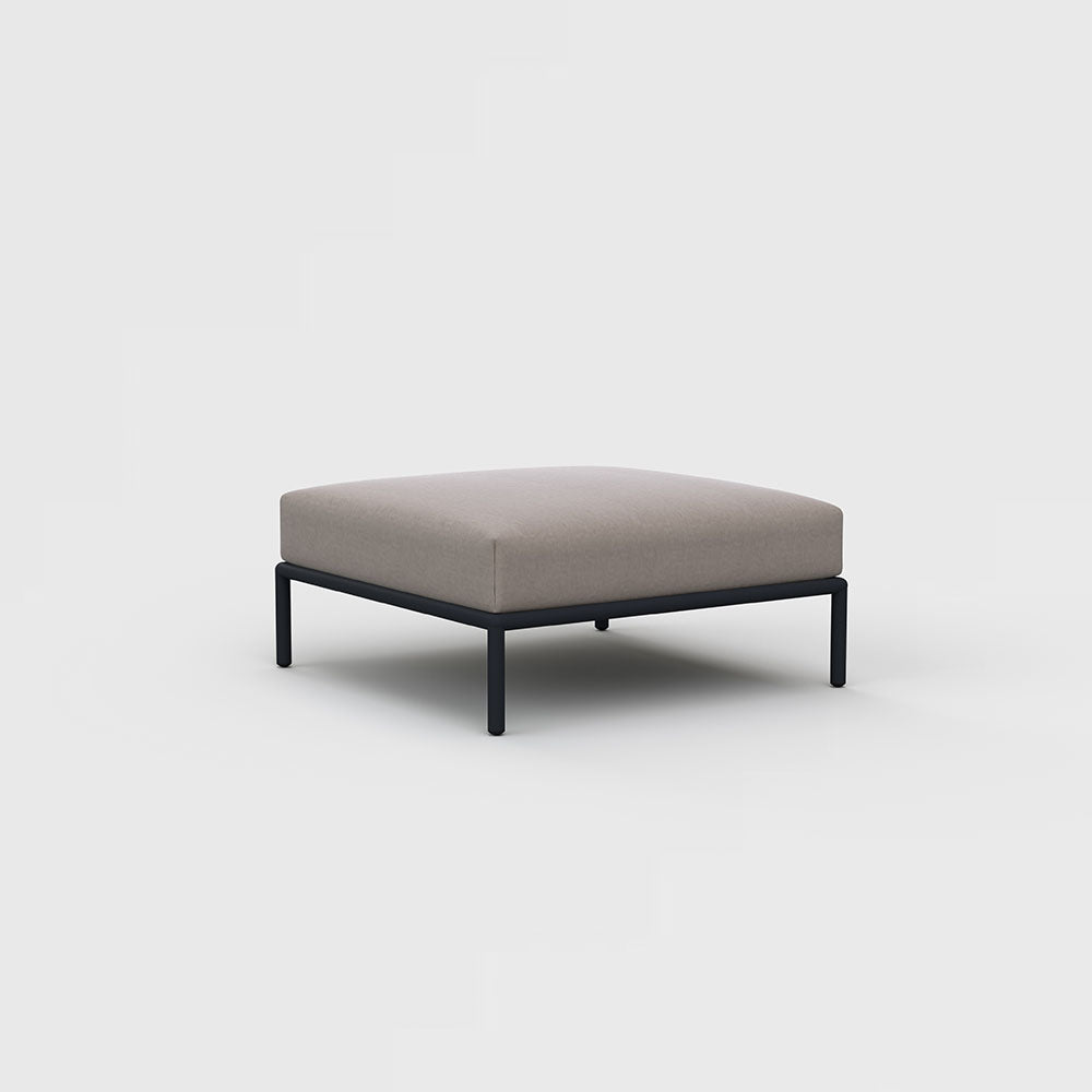 Houe - Level Lounge Ottoman Ash
