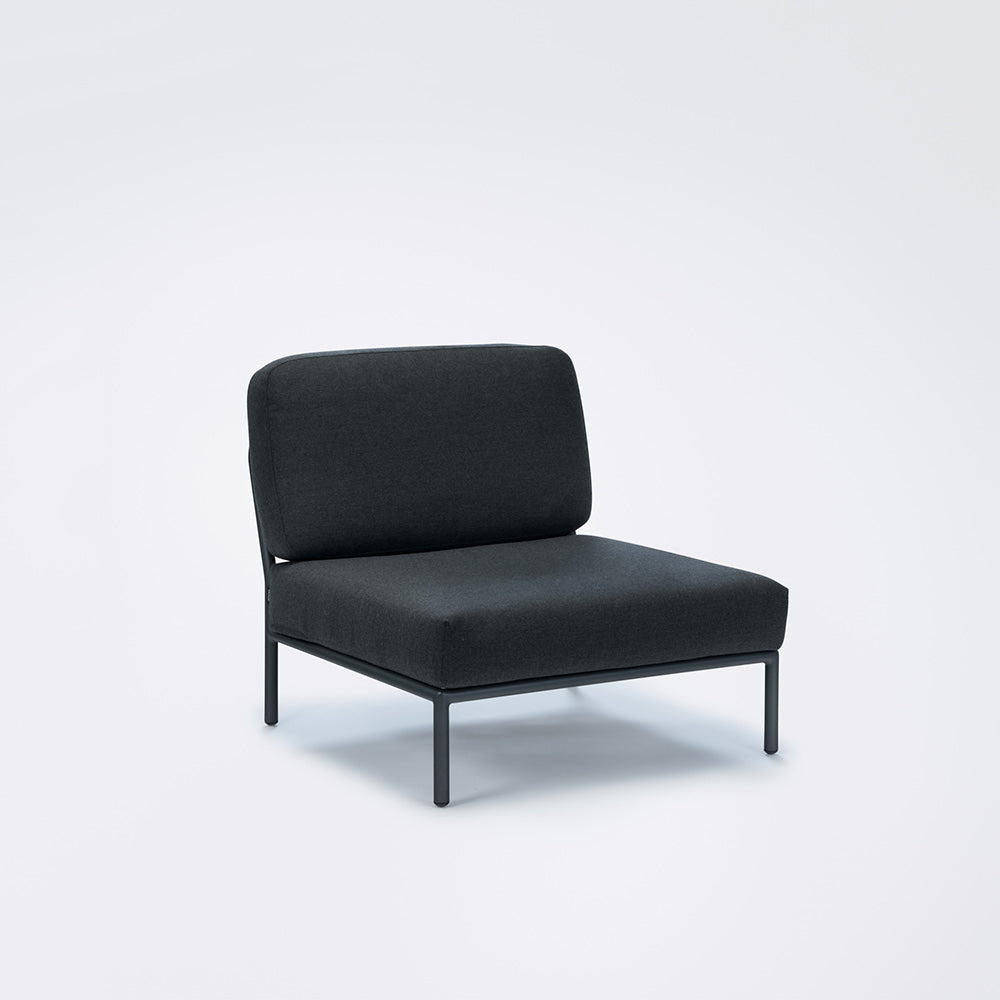 Houe - Level Lounge Chair / Single Modul Sooty grey