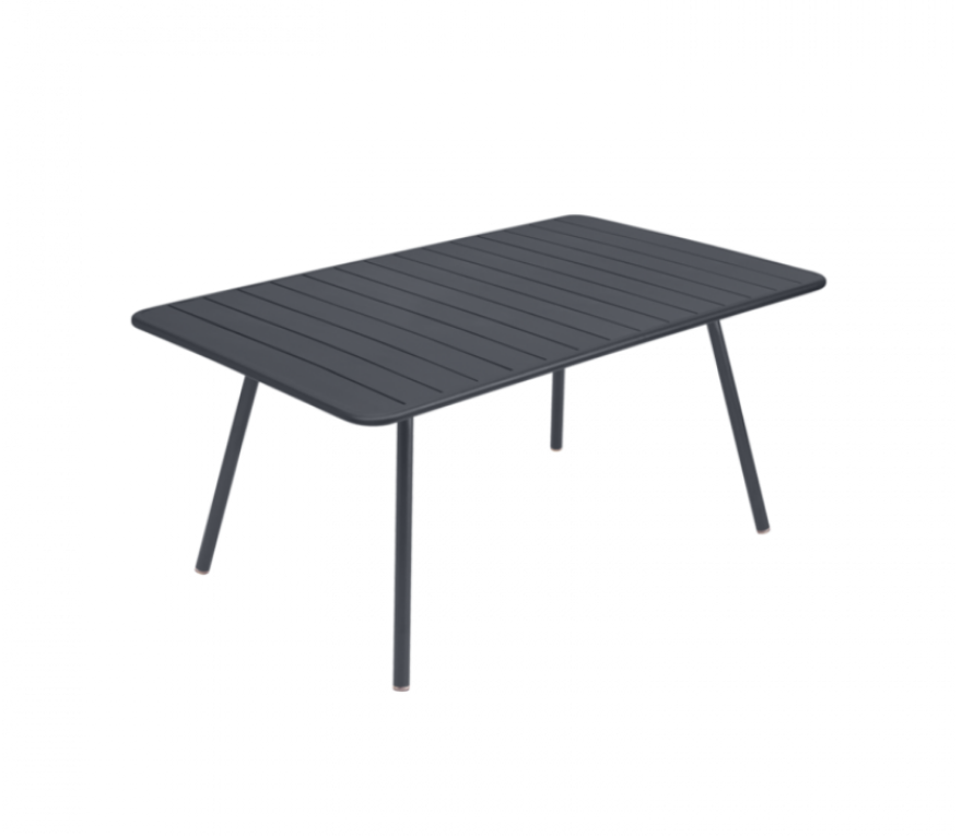 Fermob Luxembourg Bord - 100 cm x 165 cm - Anthracite