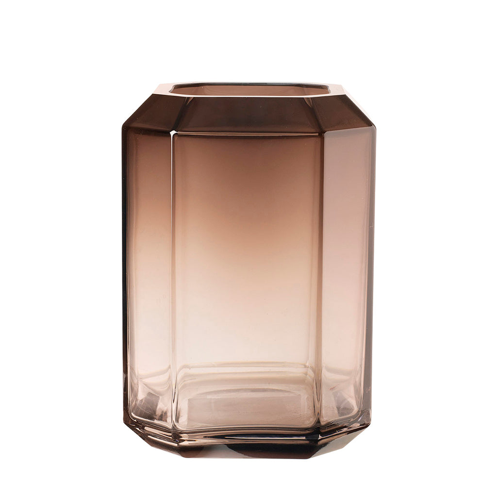 Louise Roe Giant Jewel Vase - Smoke