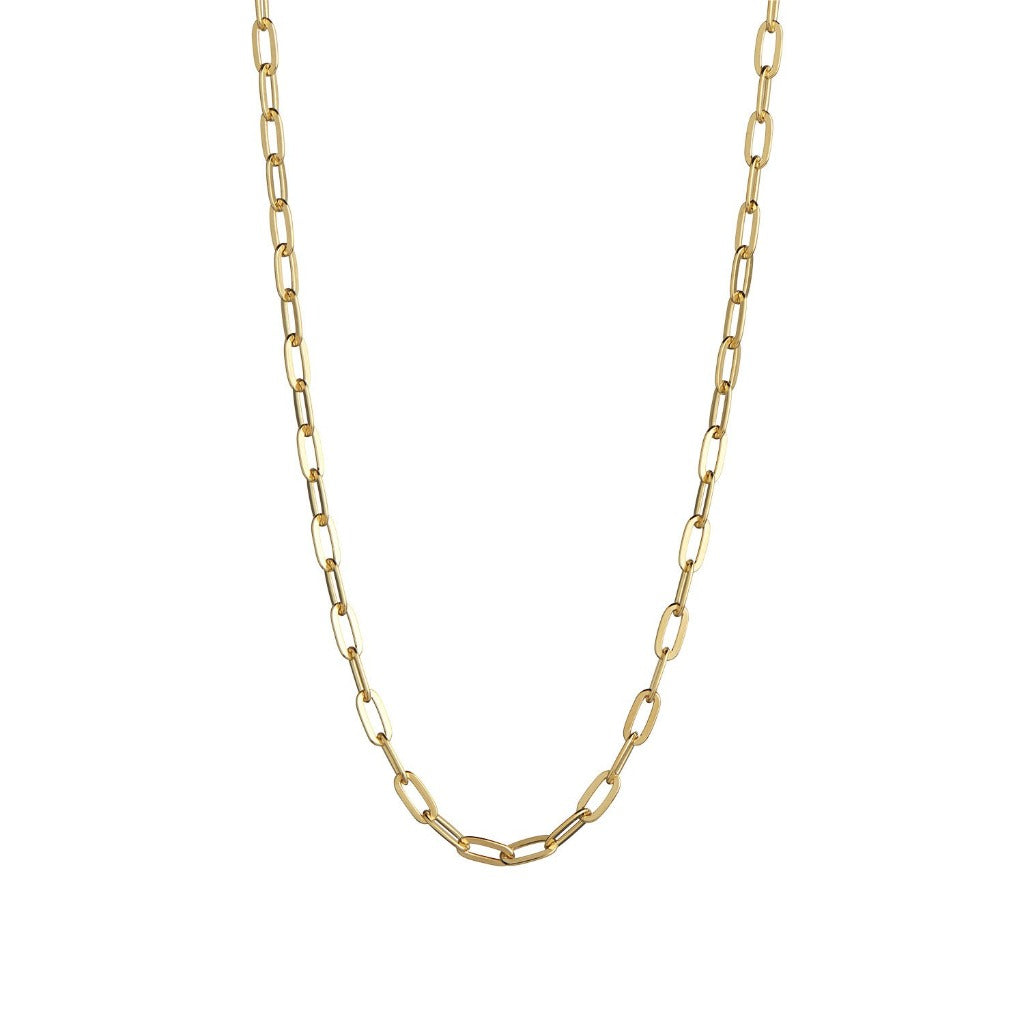 Stina A Big Chunky Pendant Chain - Gold