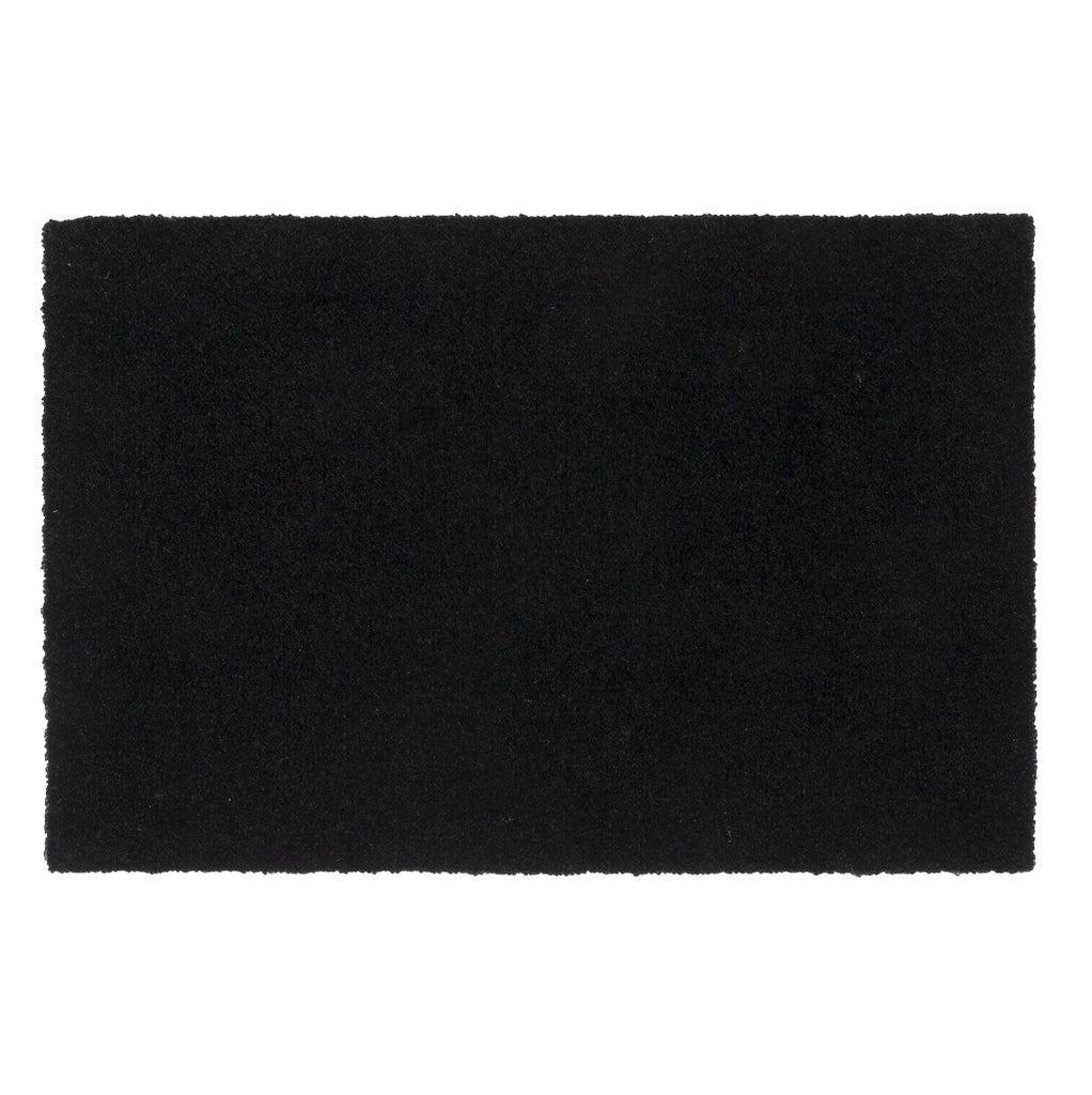 Tica Copenhagen Black Floormat Unicolour 40x60