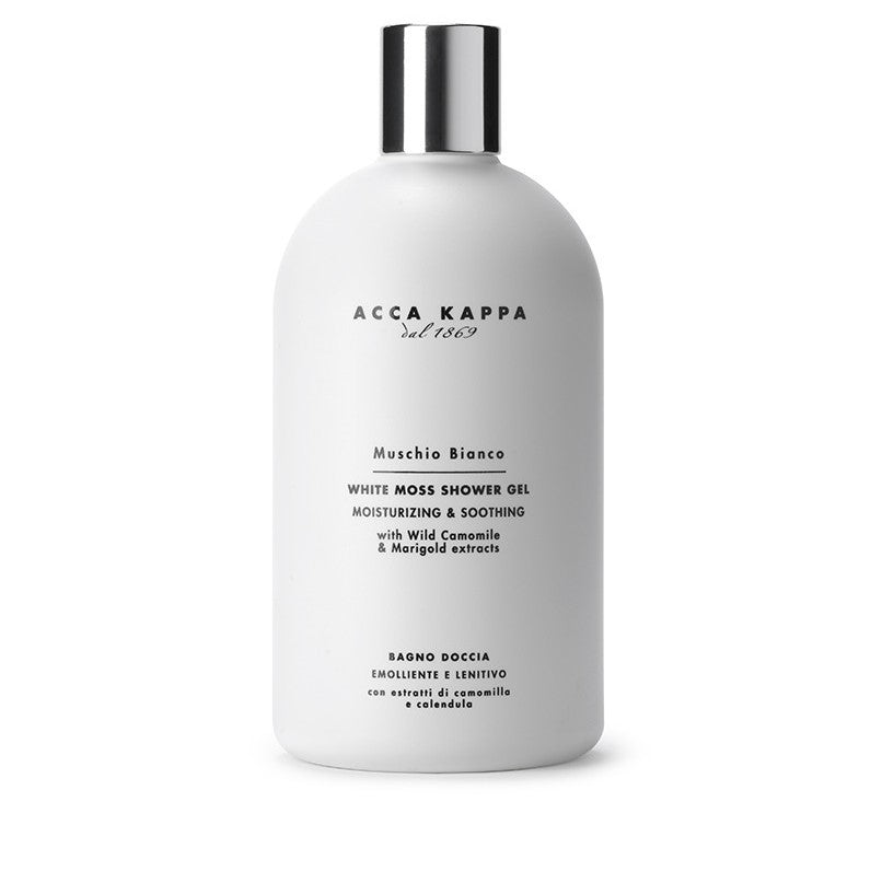 Acca Kappa White Moss Shampoo/Shower Gel 500 ml.
