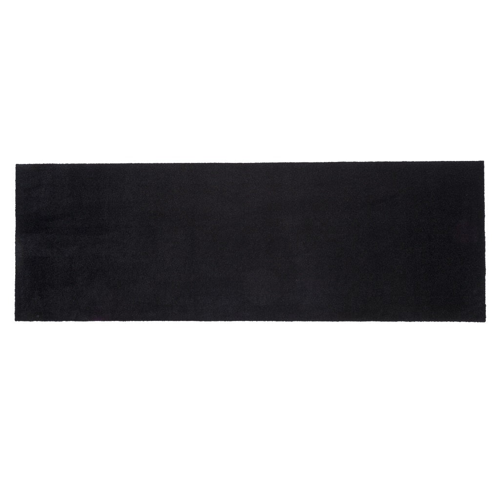 Tica Copenhagen Black Floormat Unicolour 67x200