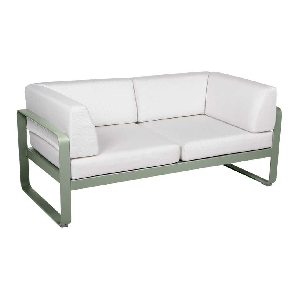 Fermob Bellevie Club sofa Off-White - 2 pers.
