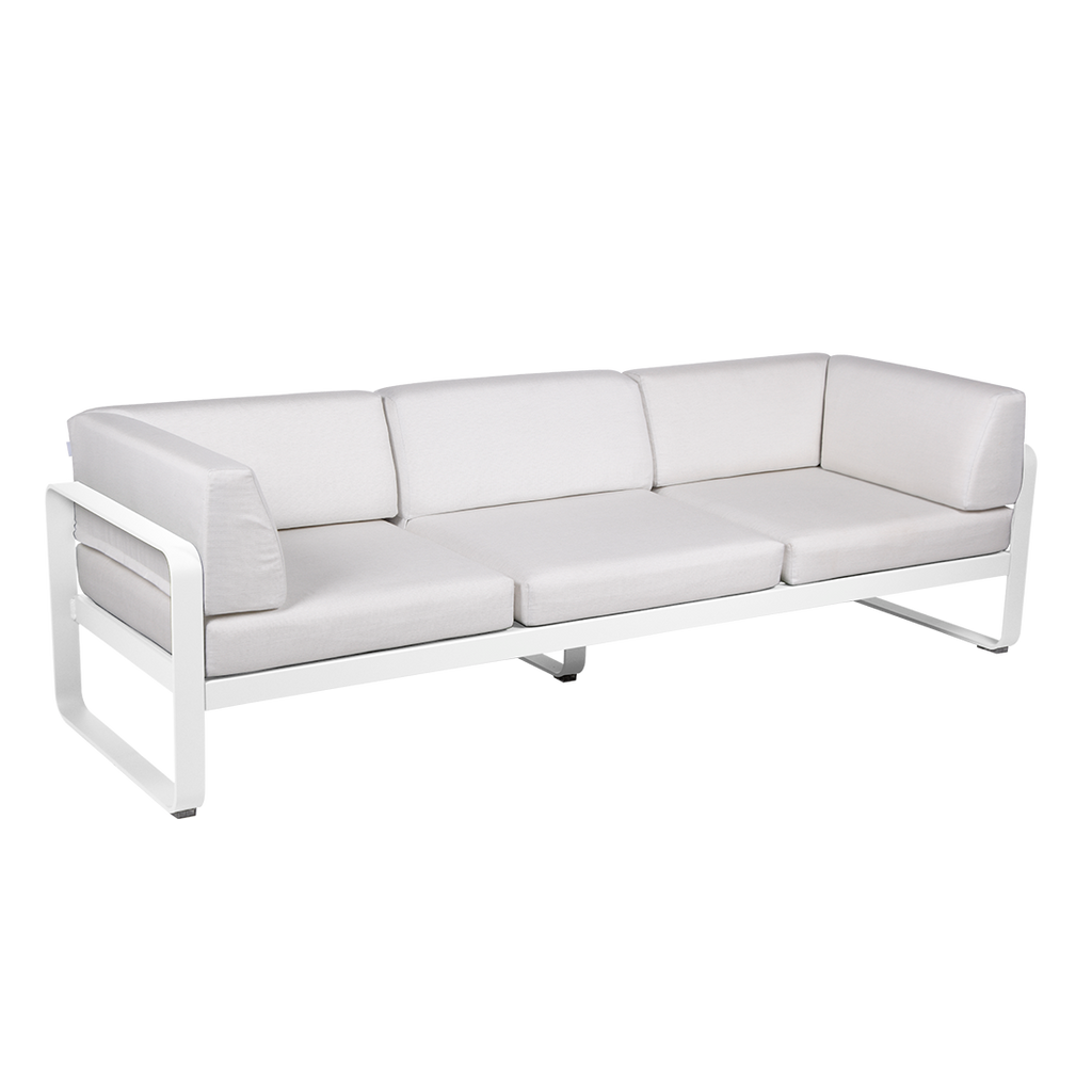 Fermob Bellevie Club sofa Off-White - 3 pers.