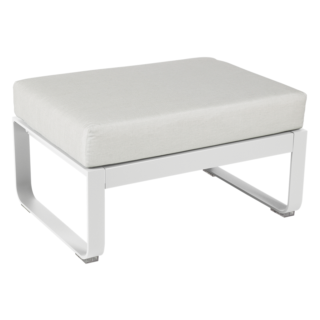Fermob Bellevie Ottoman Off-White - 1 pers.