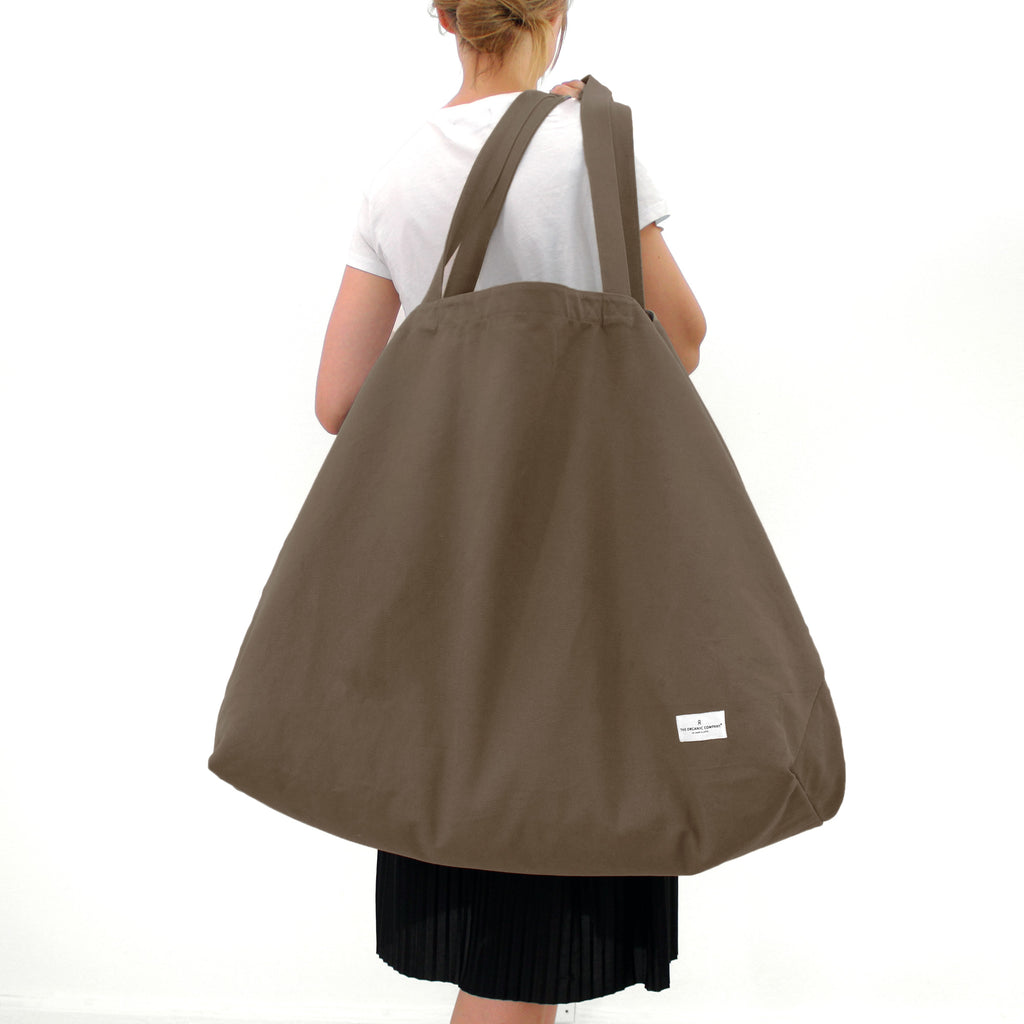 The Organic Company Big Long Bag - Clay