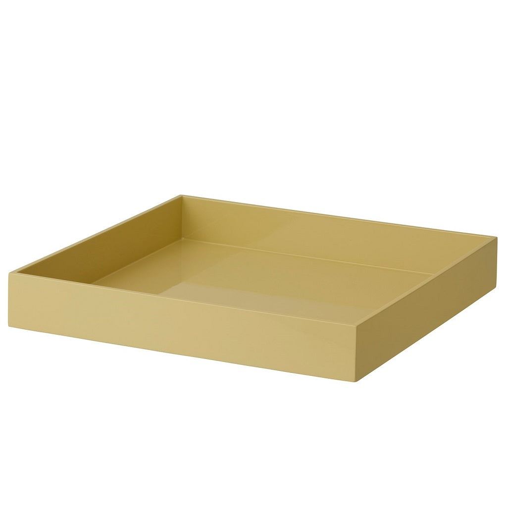Bungalow, Lacquer Square Tray - Hemp