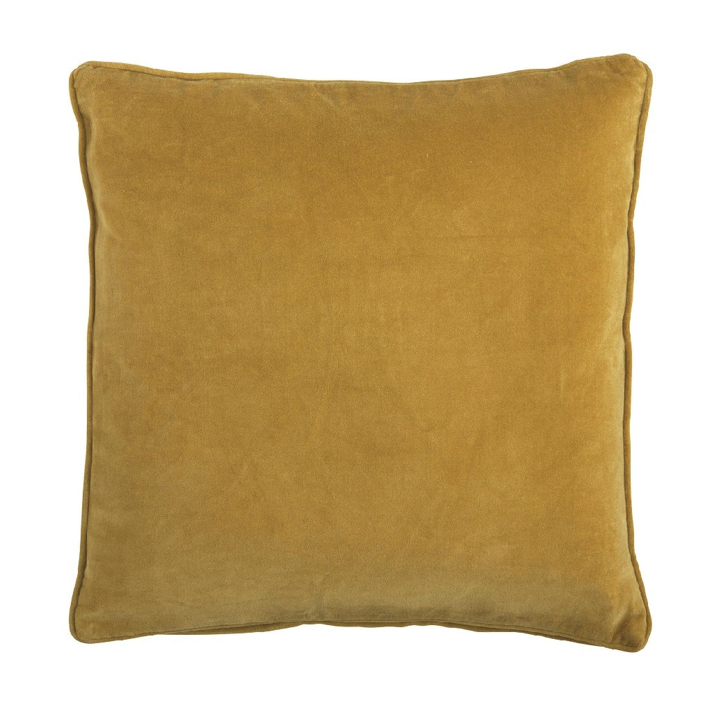 Bungalow Velour pude - Ochre