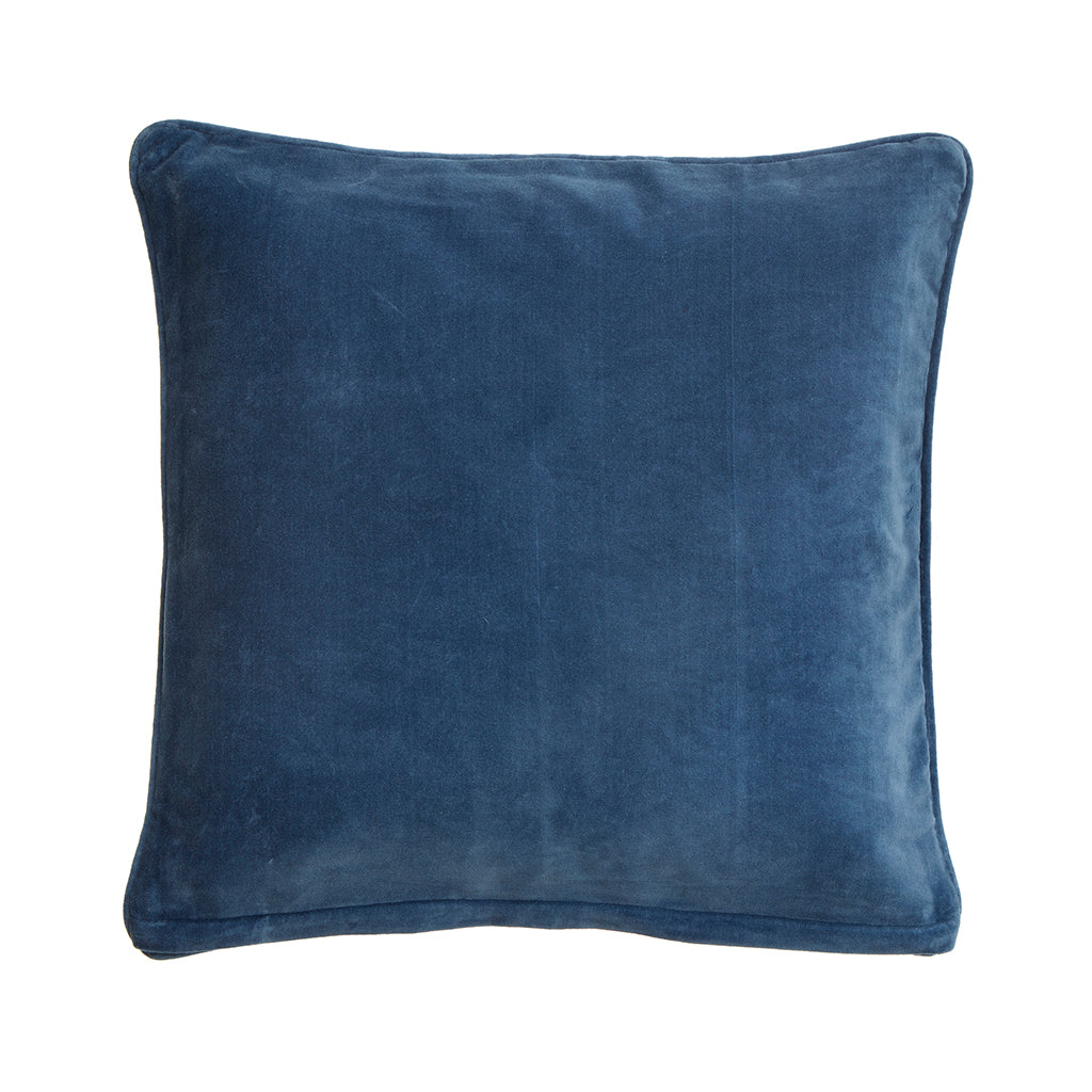 Bungalow-velour-pude-China Blue