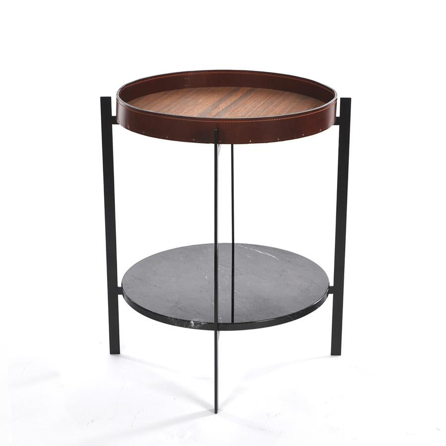 Ox Denmarq Deck Table læder