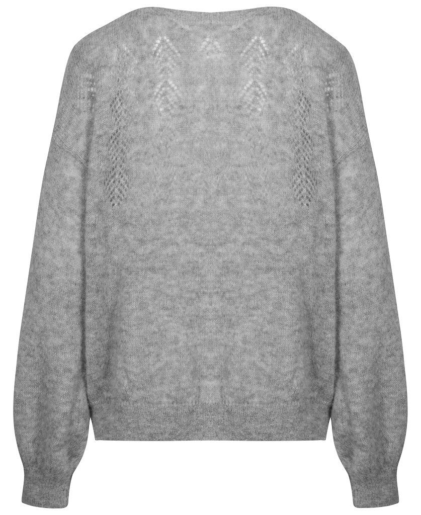 Gai+Lisva, Lea strik - Grey Melange back