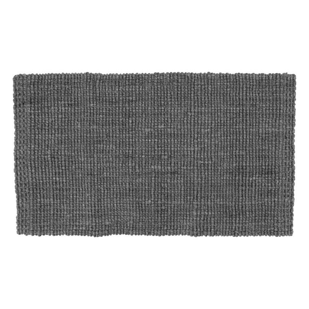 Dixie dørmåtte jute lead grey 90x60