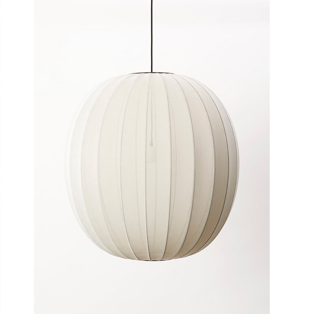 Made By Hand Lampe Knit-Wit - Ø75 cm - Pearl White - CasaCasino.dk