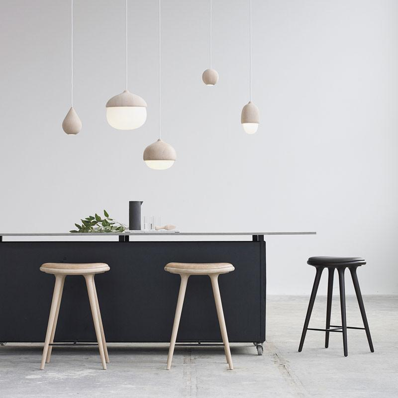 Mater Design High Stool - Sirka grå bøg h. 74 cm