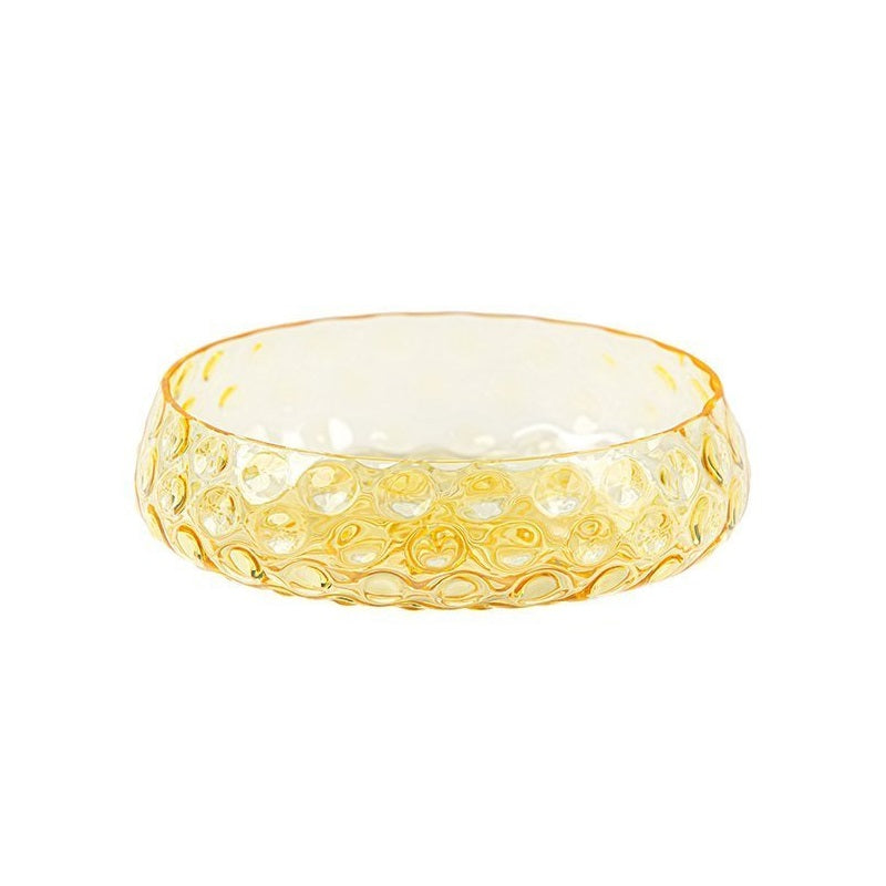 Kodanska_Summer_Bowl_Medium_Yelllow_mundblæst_glas