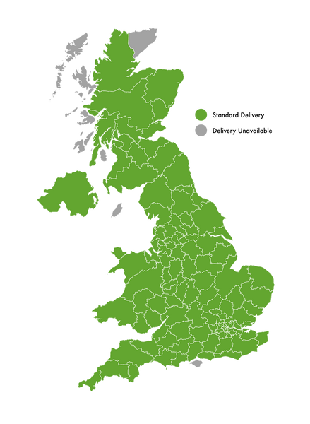 Grass Warehouse Delivery Map