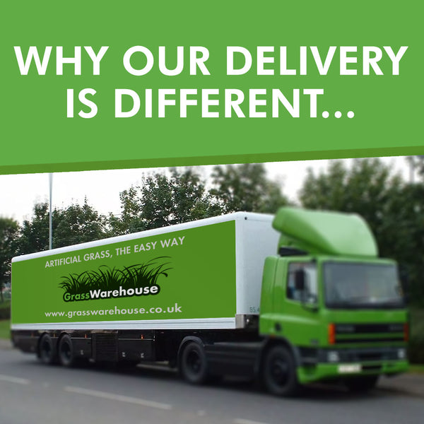 Why Our Artificial Grass Delivery is Different
