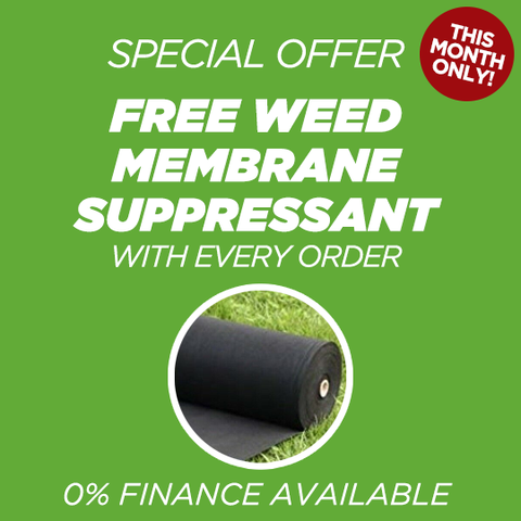 Free Weed Membrane Suppressant Special Offer