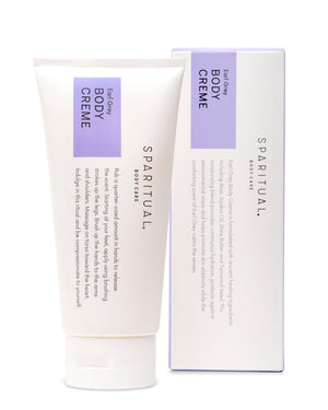 Mother Nature's Best Market Sparitual Earl Grey Tuberose Body Creme Cruelty-Free, Organic, Vegan