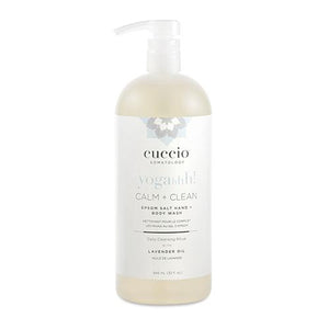 Mother Nature's Best Market Cuccio Somatology Calm + Clean Lavender Hand + Body Wash Cruelty-Free