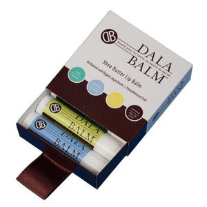 Mother Nature's Best Market Dala Balm Co. Lip Balm 4 Pack All Natural Cruelty Free Gluten Free Organic