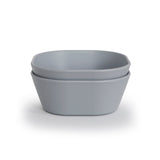 Mother Nature's Best Market Mushie Square Bowls Cloud (Set of 2) Cruelty-Free, Reusable/Recyclable