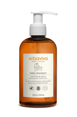 Mother Nature's Best Market Erbaviva Baby Shampoo Cruelty-Free, Vegan