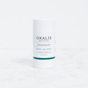 Mother Nature's Best Market Oxalis Apothecary Cedar + Palo Santo Deodorant All-Natural, Cruelty-Free, Organic, Vegan