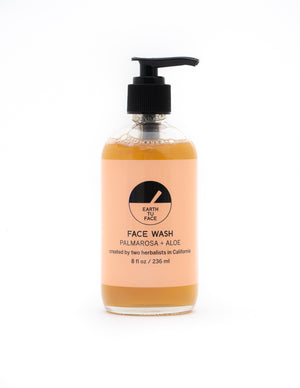 Mother Nature's Best Market Earth Tu Face Face Wash All-Natural Cruelty-Free Organic Reusable/Recyclable