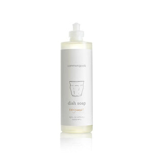 Mother Nature's Best Market Common Good Dish Soap, Bergamot Cruelty-Free, Reusable/Recyclable