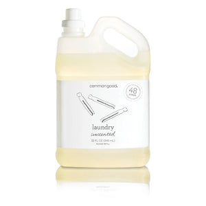 Mother Nature's Best Market Common Good Laundry Detergent, Unscented Cruelty-Free, Reusable/Recyclable