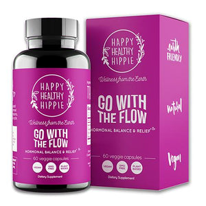 Mother Nature's Best Happy Healthy Hippie Go With The Flo All Natural Cruelty Free Gluten Free Vegan