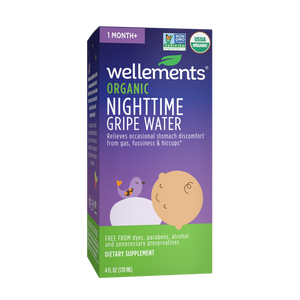 Wellements Organic Gripe Water Nighttime