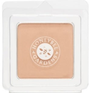 Mother Nature's Best Market Honeybee Gardens Pressed Mineral Powder Foundation Color Malibu Cruelty-Free, Gluten-Free, Reusable, Recyclable, Vegan